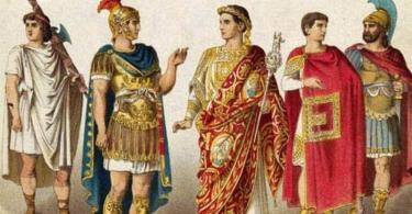 костюм древнего рима фото