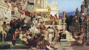 люди древнего рима фото