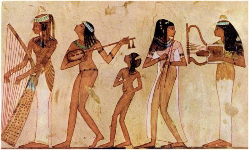 музыка древнего египта фото