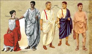 одежда древнего рима фото