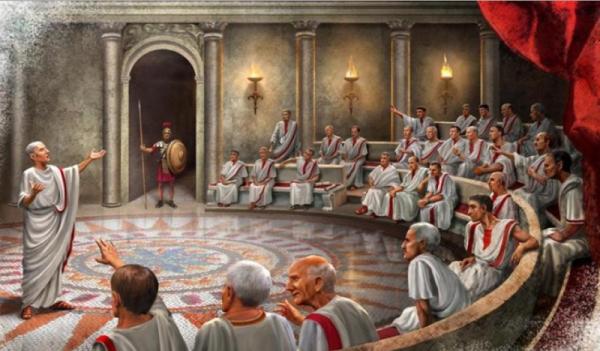 общество древнего рима фото