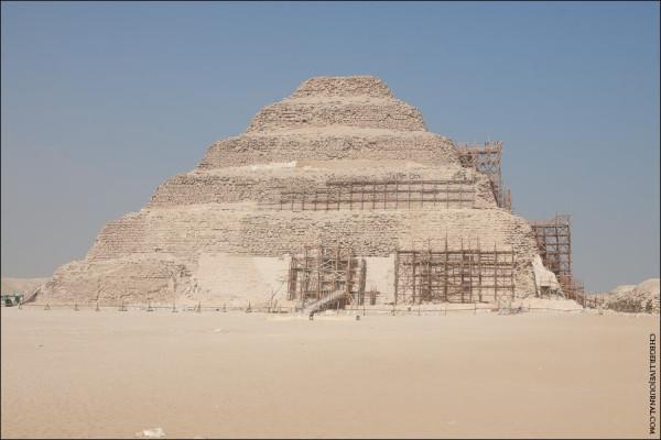 пирамида джосера саккара