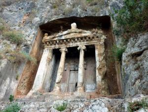 Ликийский гробницы. Турция.