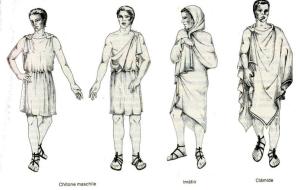 одежда греции