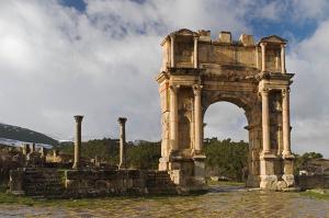 римский город типаза алжир
