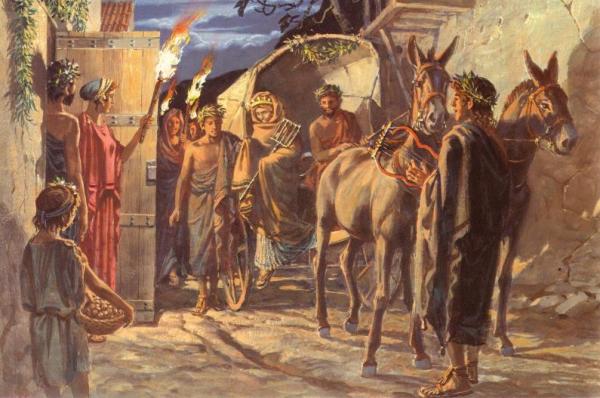 традиции древней греции