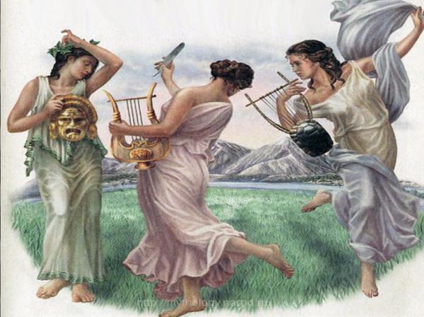 сотворение мира миф древней греции