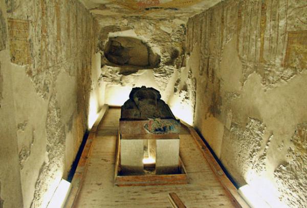 гробница ха ба фараона египта
