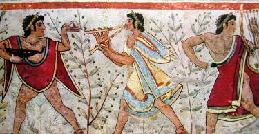 музыка древнего рима