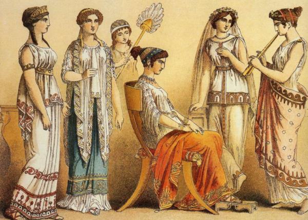 каноны моды греции фото