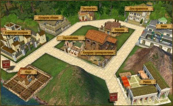 древний рим играть онлайн