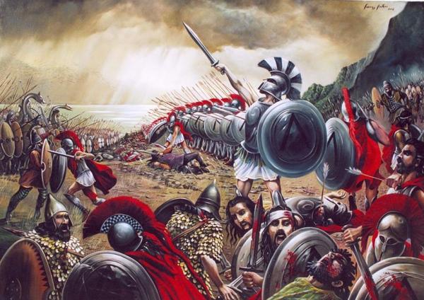 вторжение персидской армии в грецию