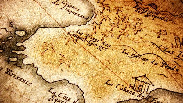 карта сокровищ фото