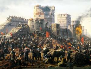 завоевание балканского полуострова османами
