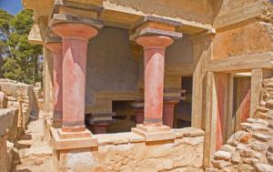 руины древнего крита