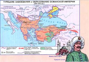 турецкие завоевания