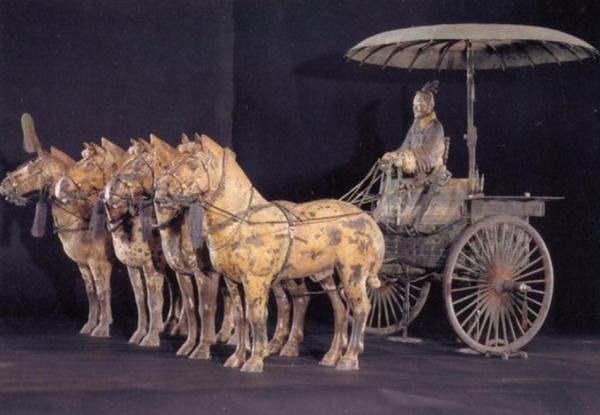 колесница древнего китая