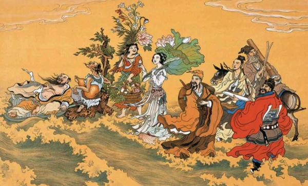 мифы китайского народа