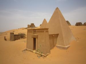 нубийские пирамиды фото