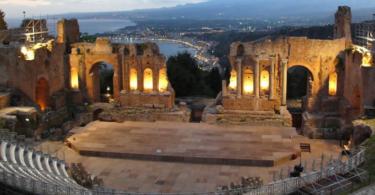 древнегреческий театр фото