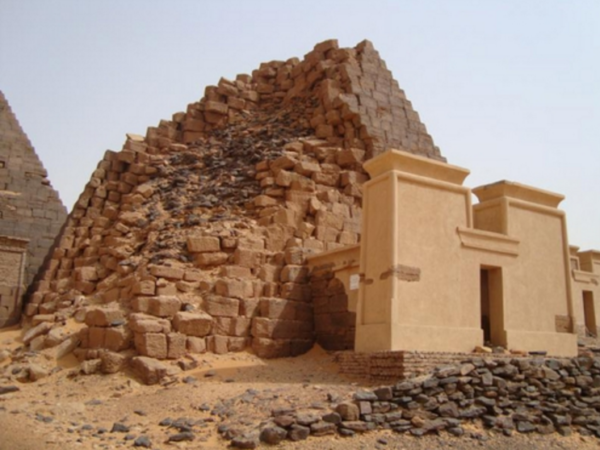 пирамиды черных фараонов