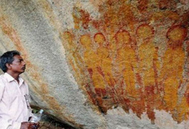 В-Индии-обнаружены-доисторические-наскальные-изображения_4