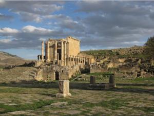 древний город джемила в алжире