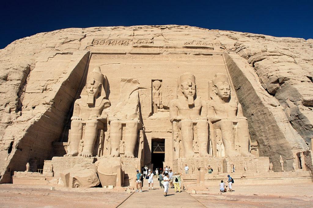 храм в древнем египте