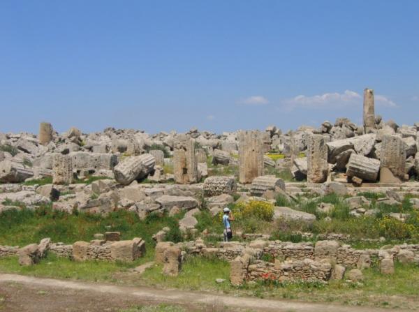 храм зевса селинунт сицилия