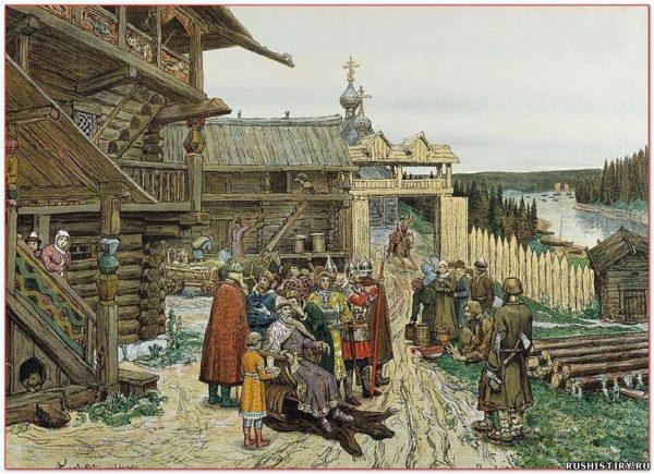 Становление права Древней Руси история Основные классы в Древней Руси