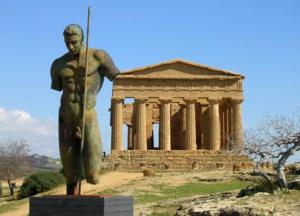 древний город селинунт сицилия