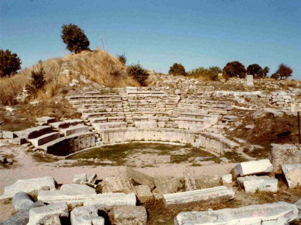 древнегреческий город троя