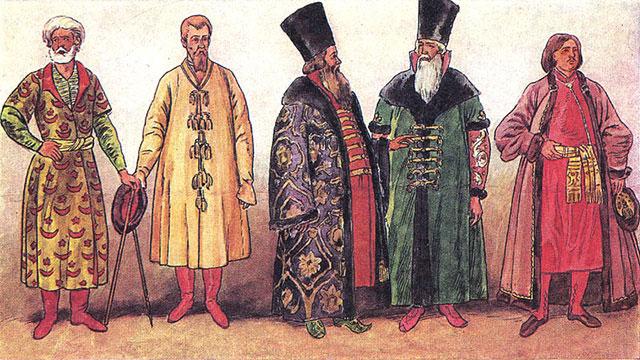 класс феодалов в древней руси