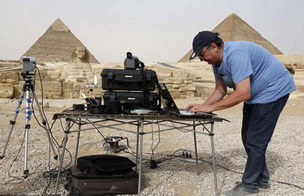 скрытые камеры в пирамидах