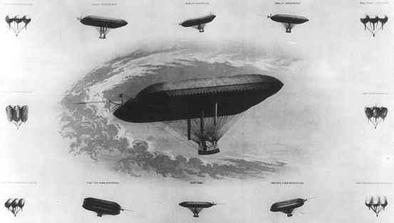 летательный аппарат древности