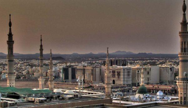 город медина саудовской аравии