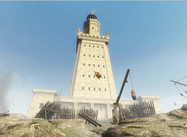 фаросский маяк в александрии