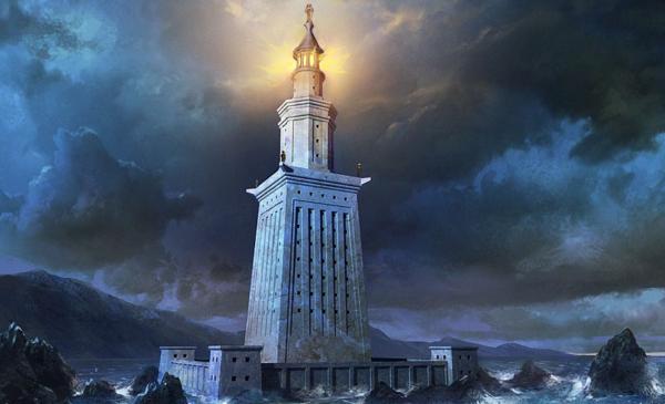 Чудеса Света Фаросский маяк