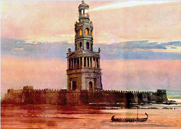 Фаросский маяк фото