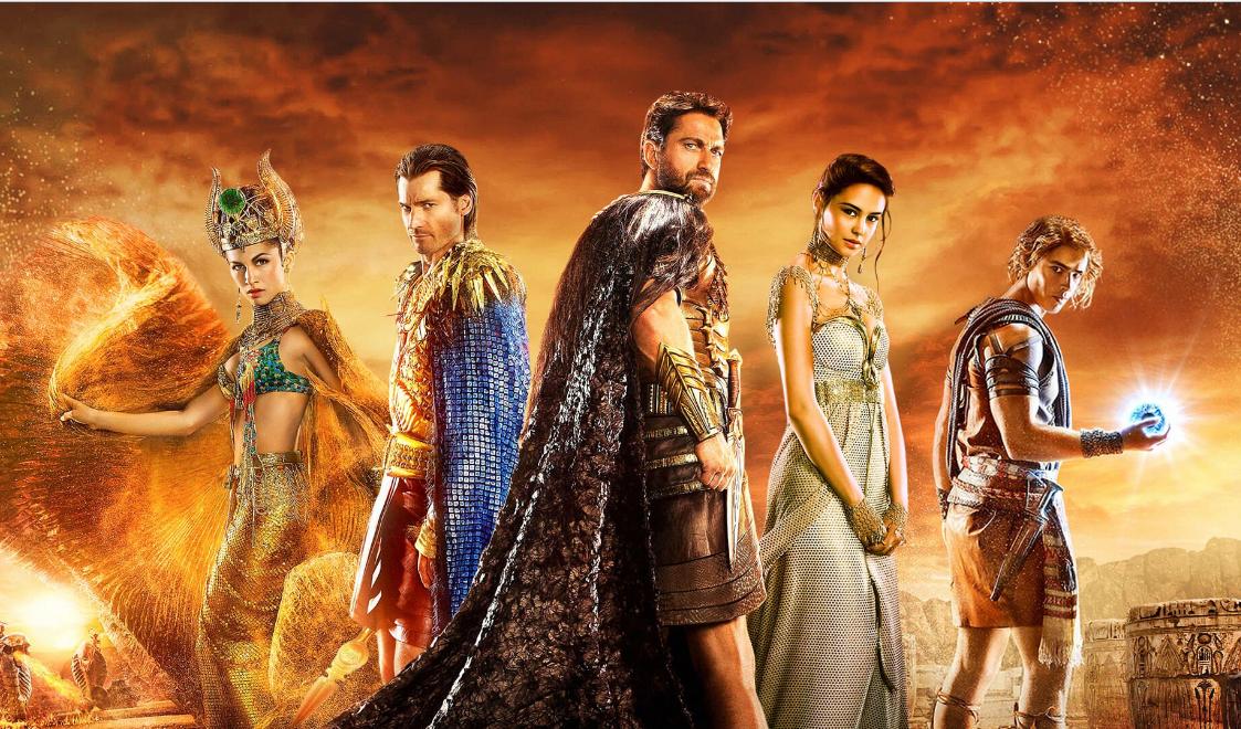 Актеры фильма «Боги Египта»