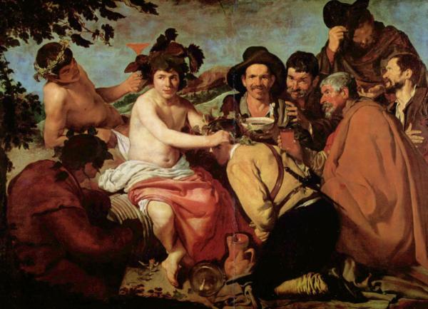 Триумф Вакха музей прадо