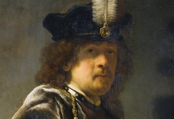 Автопортрет Рембрант