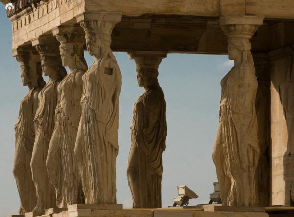 Сооружения Акрополя в Афинах