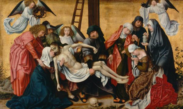 Снятие с креста Вейдена в музее прадо