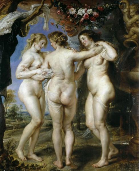 Три грации Рубенс