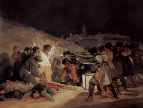 3 мая 1808 в Мадриде Гойя