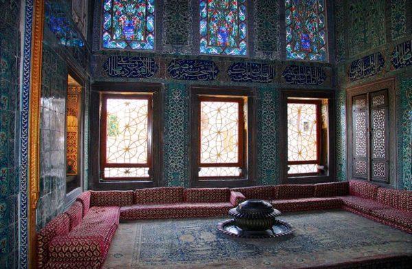 Дворец Топкапы комнаты