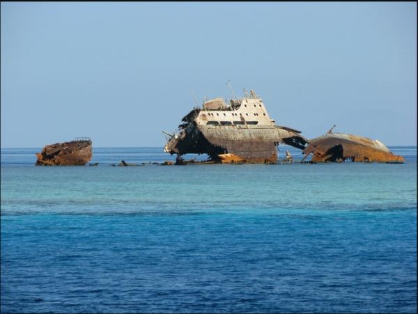 Остров Тиран Египет