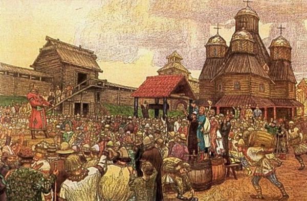 становление гражданского права в древней руси