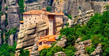 монастыри метеори греции фото